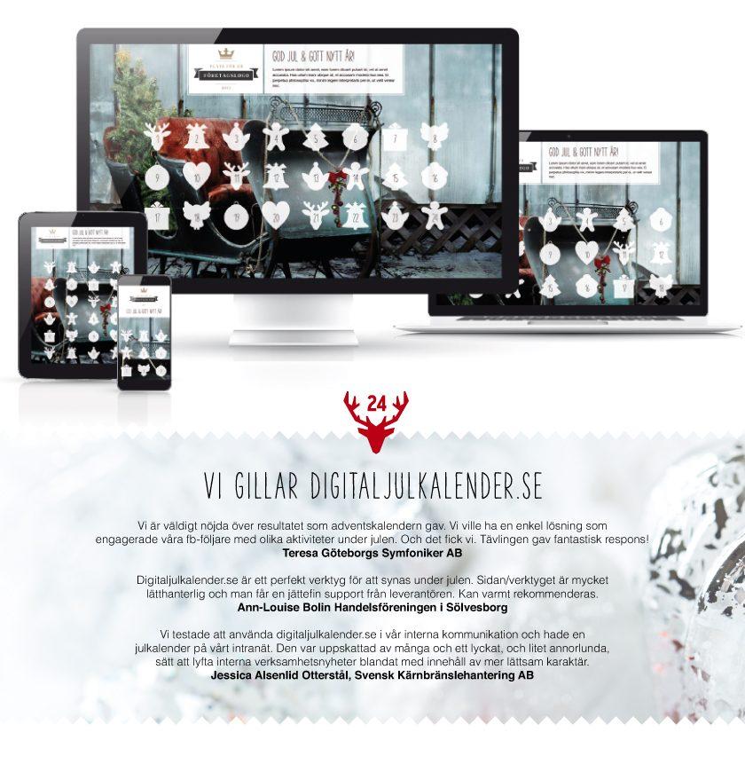 Digital julkalender