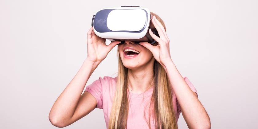 Användningen av virtual reality, VR, ökar inom marknadsföring.