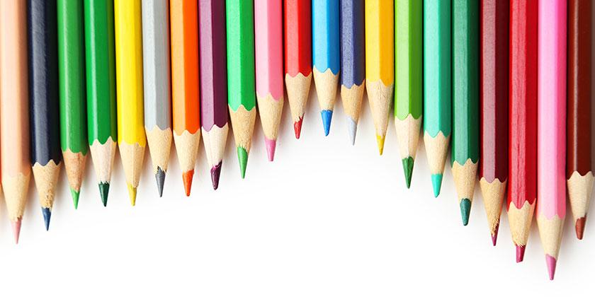 Pennor i olika färger, Happiends blogg