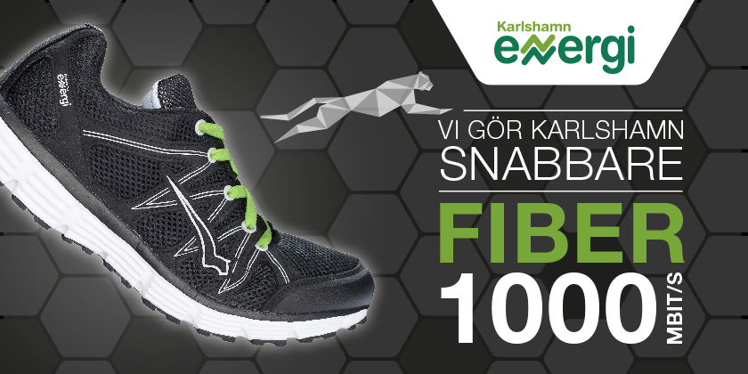 Karlshamn Energi fiberkampanj