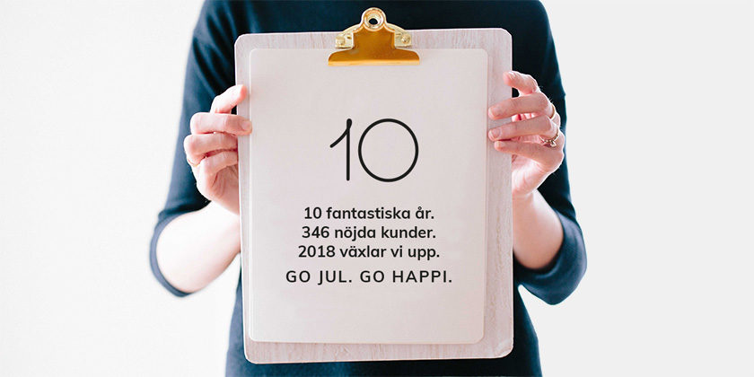 Happiend växlar upp och byter namn till Go Happi